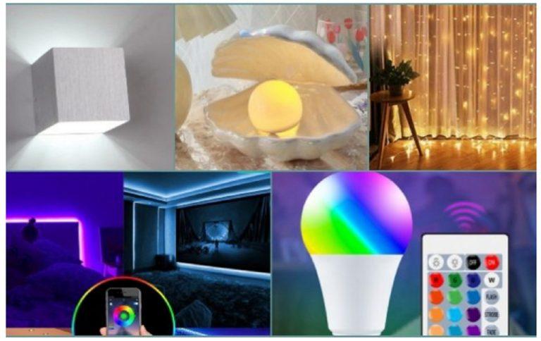 Aliexpress: 8 productos LED que darán un giro a tu hogar