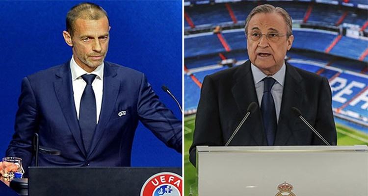 Amenazas UEFA Superliga Real Madrid
