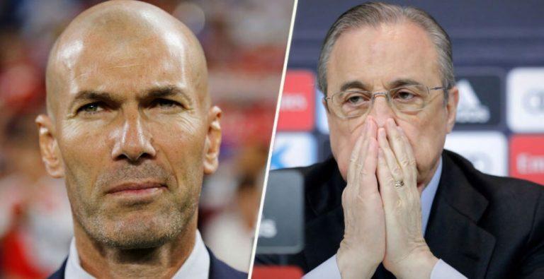 Florentino se ha cansado: Candidatos que pueden relevar a Zidane del Real Madrid