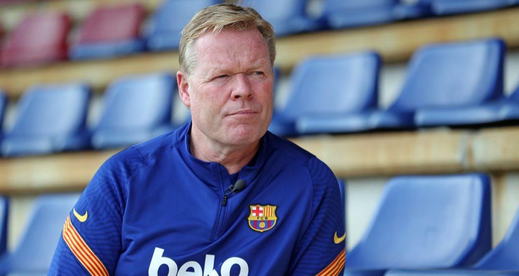 Ronald Koeman, Barça, sujetan cabeza