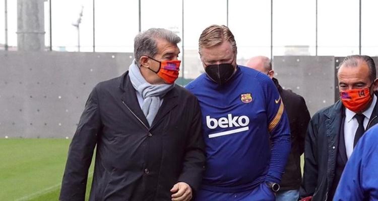 Laporta Koeman sustitutos Barça