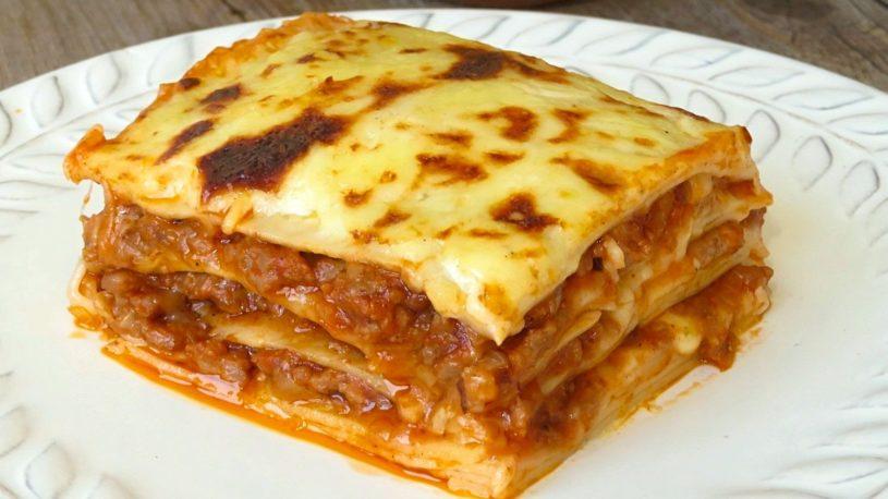 Lasaña: los errores que estropean el plato más buscado en internet