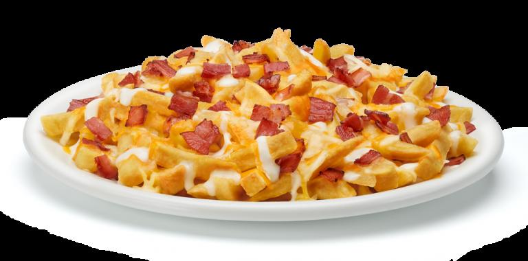 Cómo hacer las patatas bacon & cheese fries del Foster´s Hollywood
