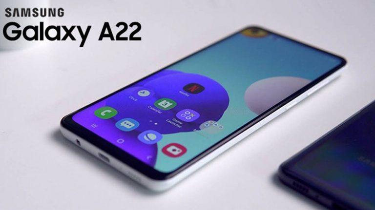 Samsung Galaxy A22 5G al descubierto: datos e imágenes que se han filtrado