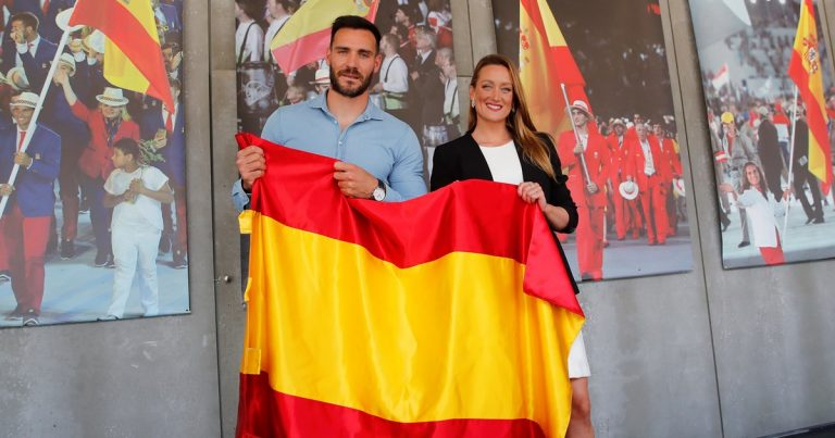 Quiénes son Saúl Craviotto y Mireia Belmonte y por qué abanderan a España en Tokio