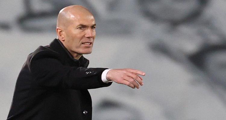 Zidane salida banquillo Real Madrid