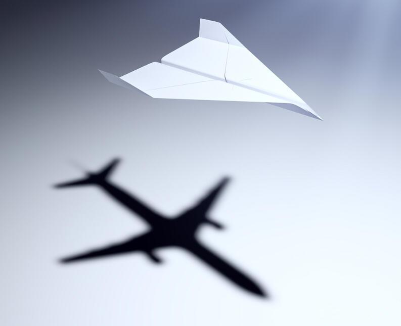 La historia del avión de papel que seguramente nadie conoce