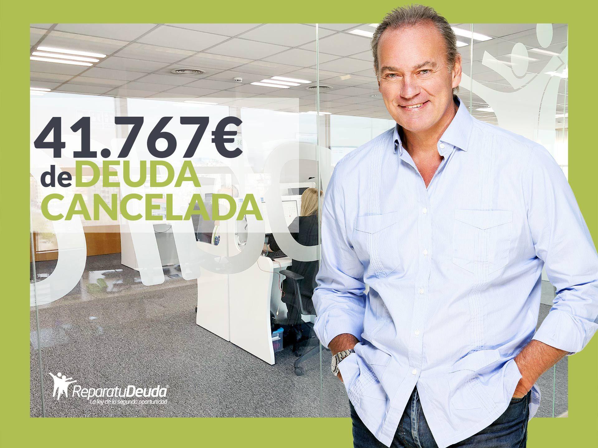 Repara tu Deuda Abogados cancela 41.767? en Ibiza (Baleares) con la Ley de la Segunda Oportunidad