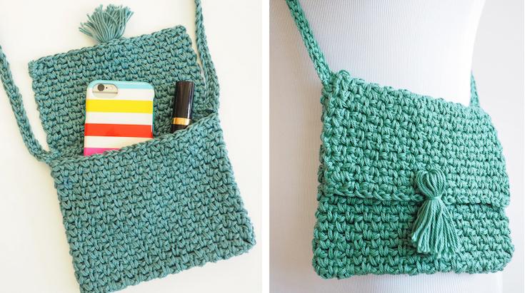 ¿Cómo hacer un bolso a crochet?