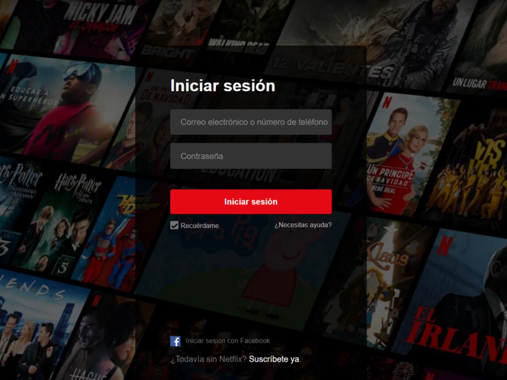 Razones para contactar con Netflix