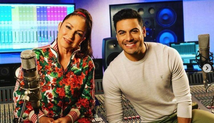 Carlos Rivera y Gloria Estefan unidos en 'Puedes Llegar'