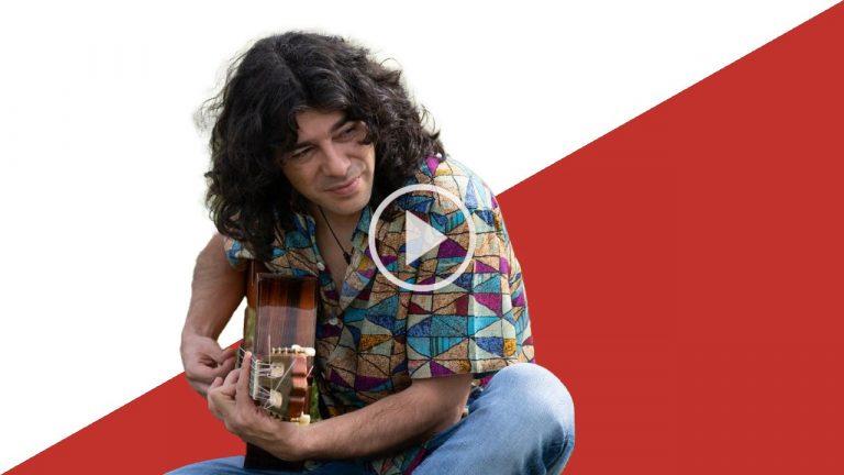 Javi Cantero: Entre el flamenco, el rock, el blues, el reggae y el funk en 'Las alas del alba'