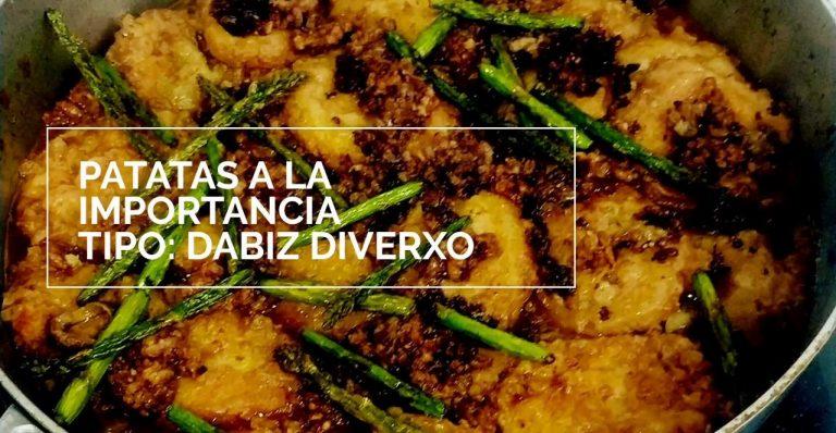 Patatas a la importancia: así versiona Dabiz Muñoz la receta más típica