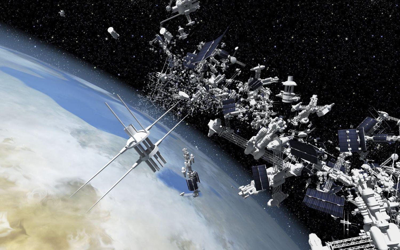 Qué es la basura espacial