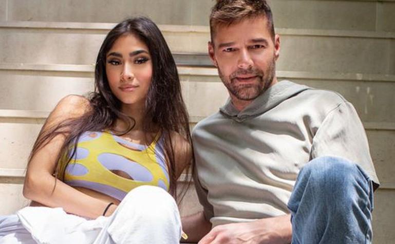 Ricky Martin en 'Qué rico fuera' con Paloma Mami