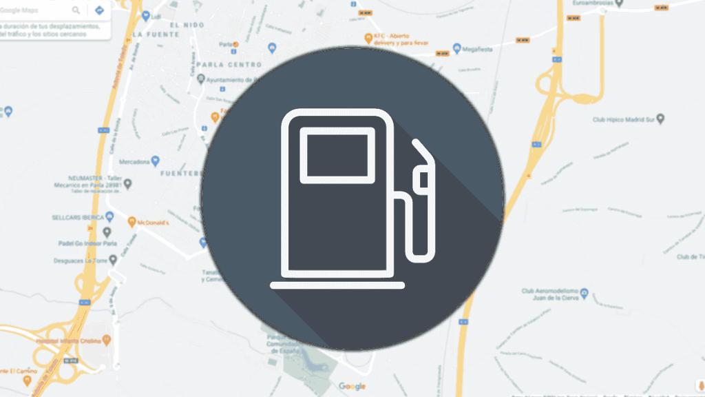 buscar gasolinera con google maps