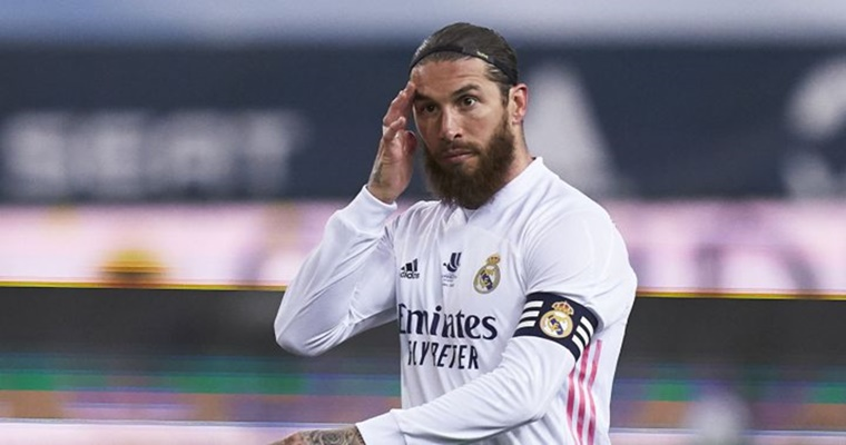 Florentino Pérez Sergio Ramos enfado