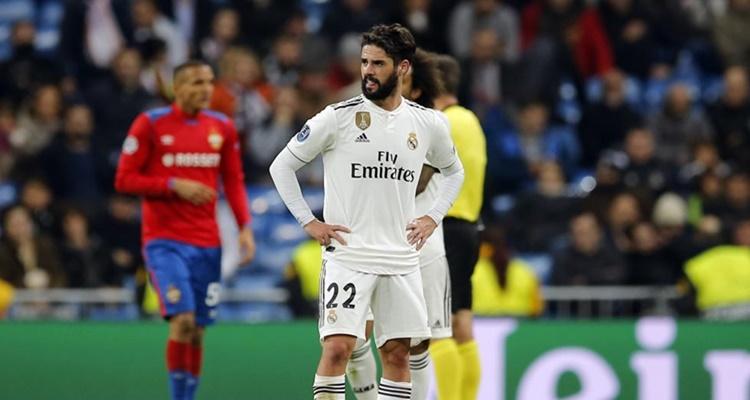 Isco molesto Real Madrid