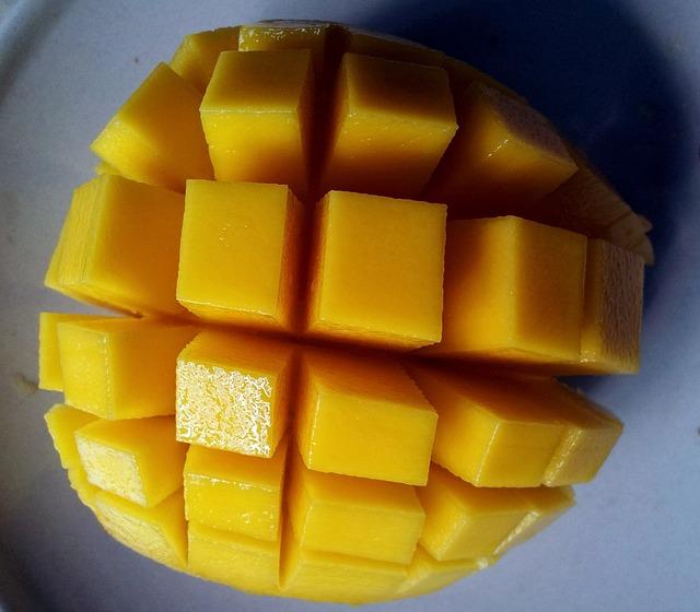 Cómo se hace una salsa de mango dulce