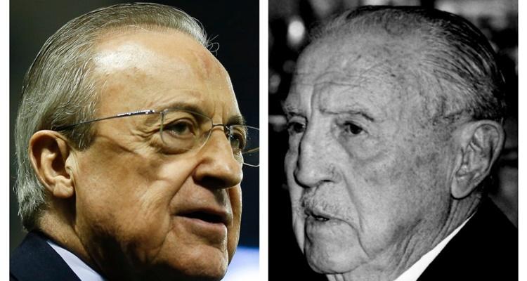 Presidentes históricos Florentino Pérez Real Madrid