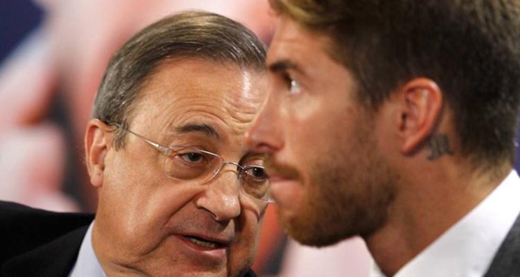 Sergio Ramos enfado Florentino Pérez