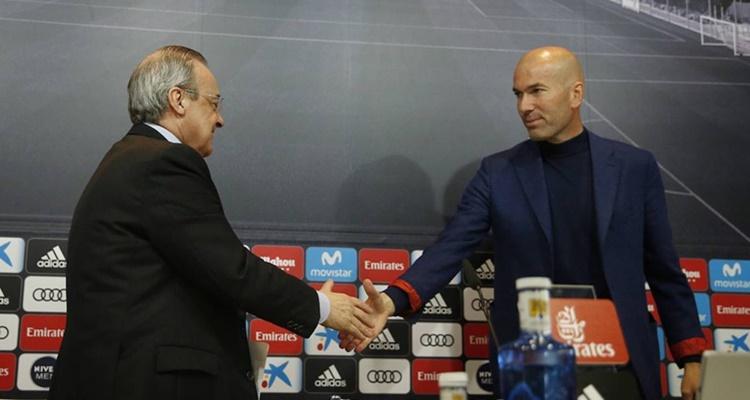 Zidane cláusula penalización Real Madrid