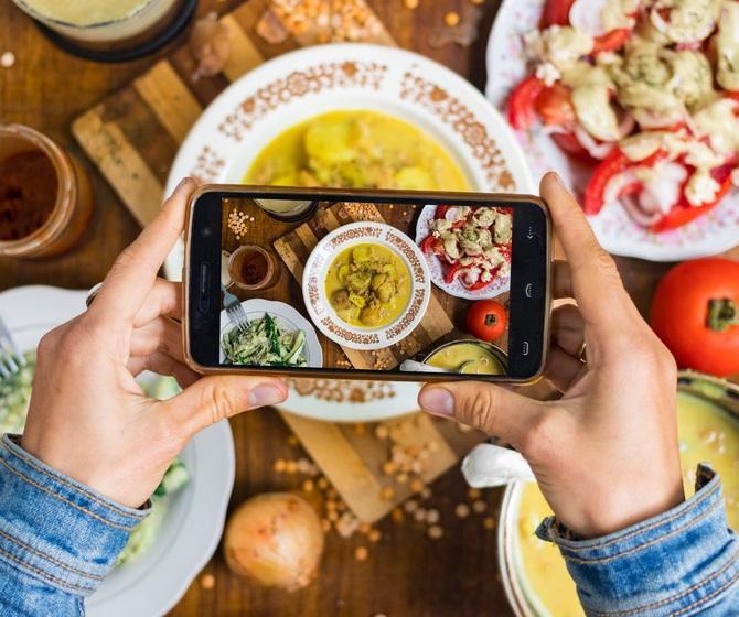 Fotos de comida para Instagram que mueve los sentidos