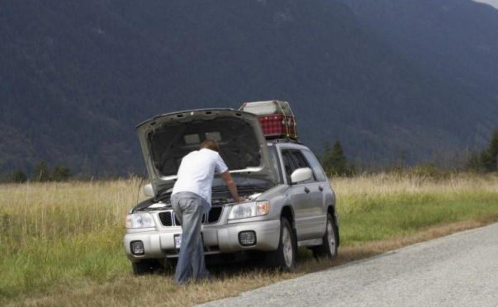 Fallas en carretera, atención y cuidado