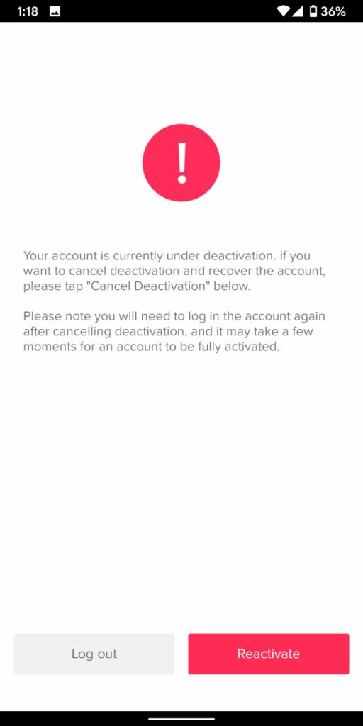 ¿Por qué TikTok suspendería una cuenta?