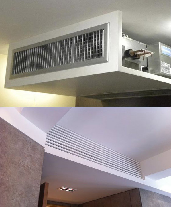 ¿Qué pasa si quiero ocultar el aire acondicionado?