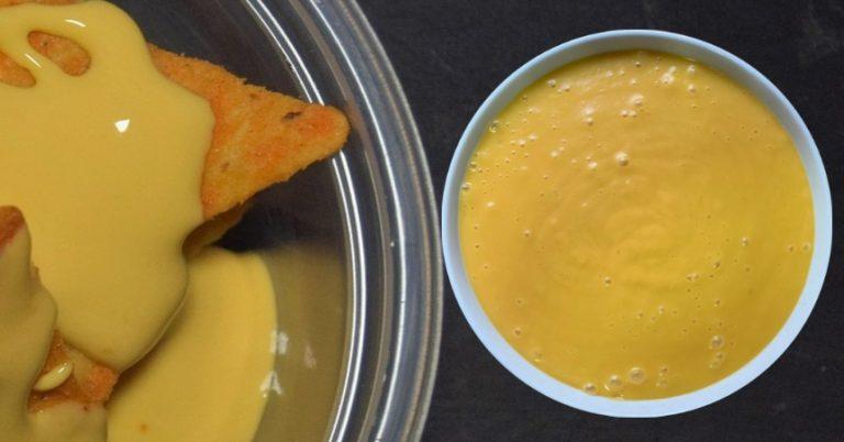 Cómo hacer la auténtica salsa de queso cheddar