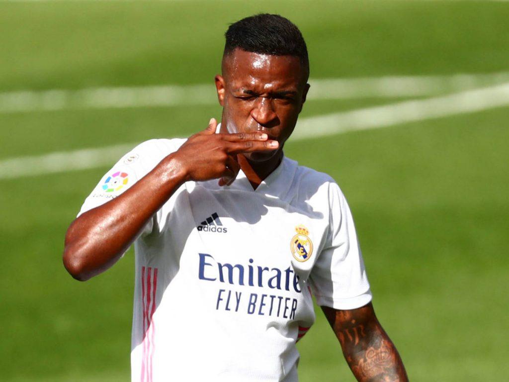 El Real Madrid usa de escudo a Vinícius