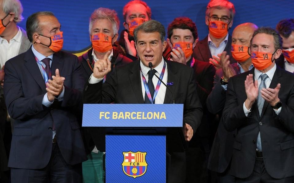 El presidente del Barça salió con las tablas en la cabeza