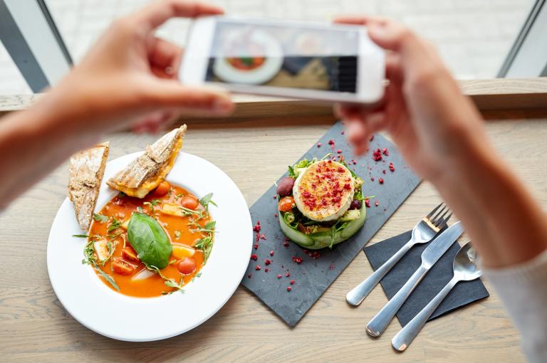 Cómo hacer las mejores fotos de comida para Instagram