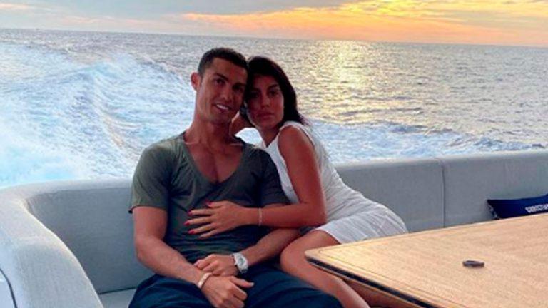 Georgina Rodríguez: las fotos comiéndose a besos a Cristiano Ronaldo
