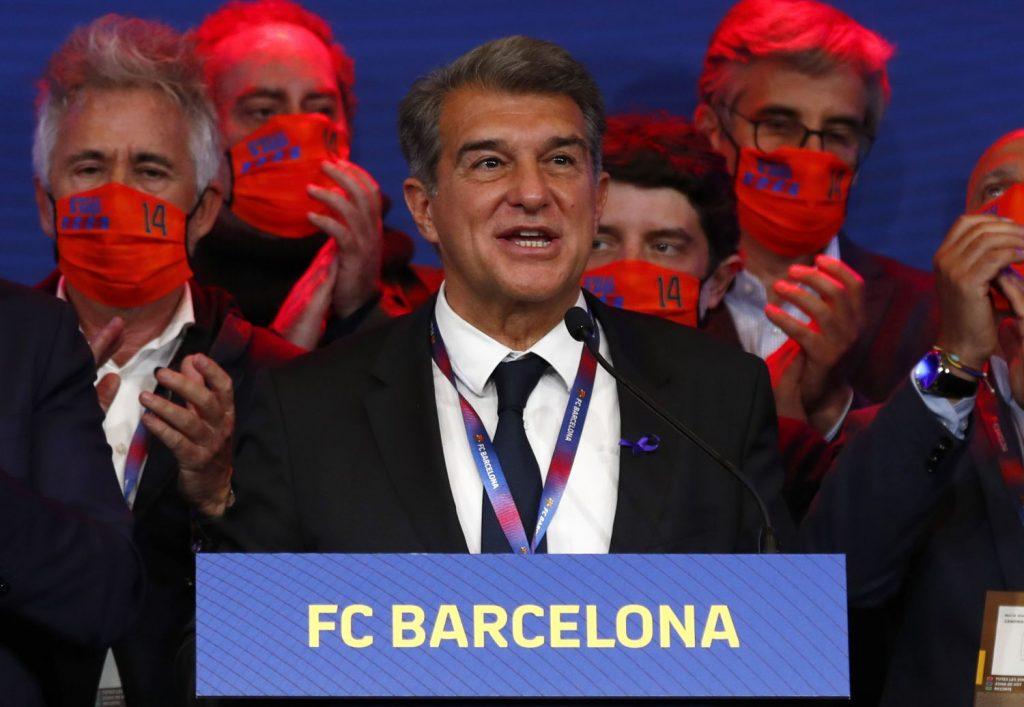 Laporta tiene un plan para el Barcelona