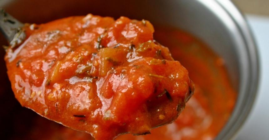 Salsa de tomate: así debe quedar para usarla en las bases de pizza