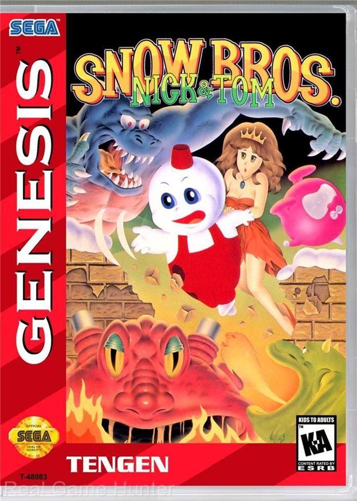 Este juego de Sega: Snow Bros, Nick & Tom