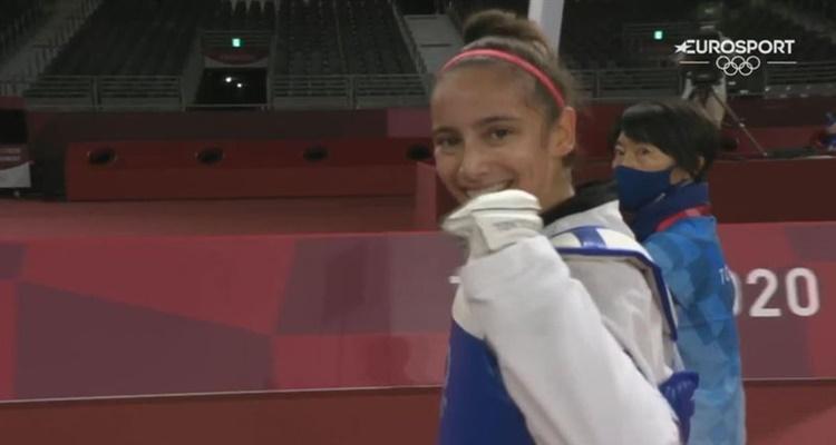 Adriana Cerezo medalla final Tokio
