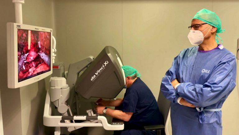HLA Moncloa vuelve a batir récords en cirugía robótica contra el cáncer de próstata