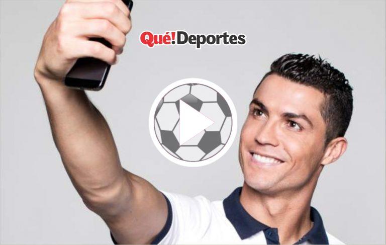 Esta es la selfie más extraña que se ha tomado Cristiano Ronaldo