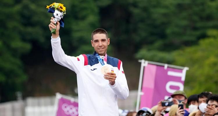 David Valero Juegos Olímpicos medalla España
