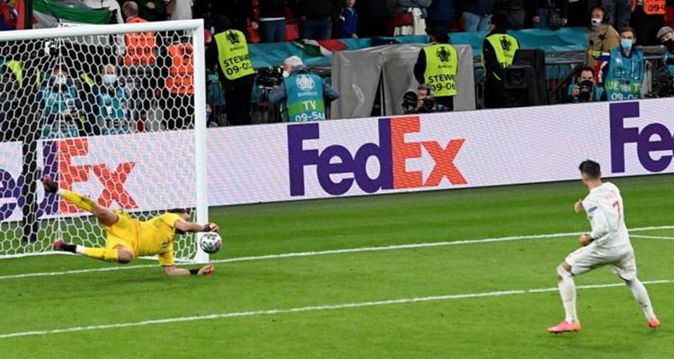 España final penaltis Eurocopa
