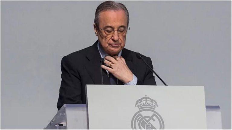 El jugador que ha perdido el Real Madrid por las grabaciones de Florentino Pérez