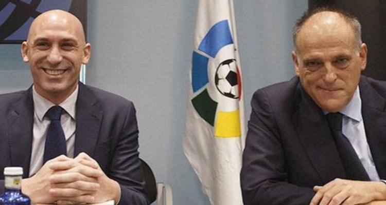 Propuesta Javier Tebas formato liga Luis Rubiales