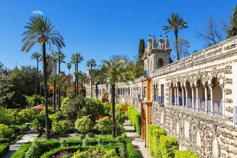 Sevilla, la capital de Andalucía y sus monumentos