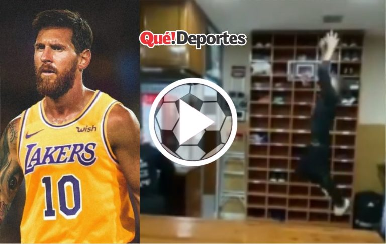 Messi siempre dando asistencias ¡Hasta en el baloncesto!