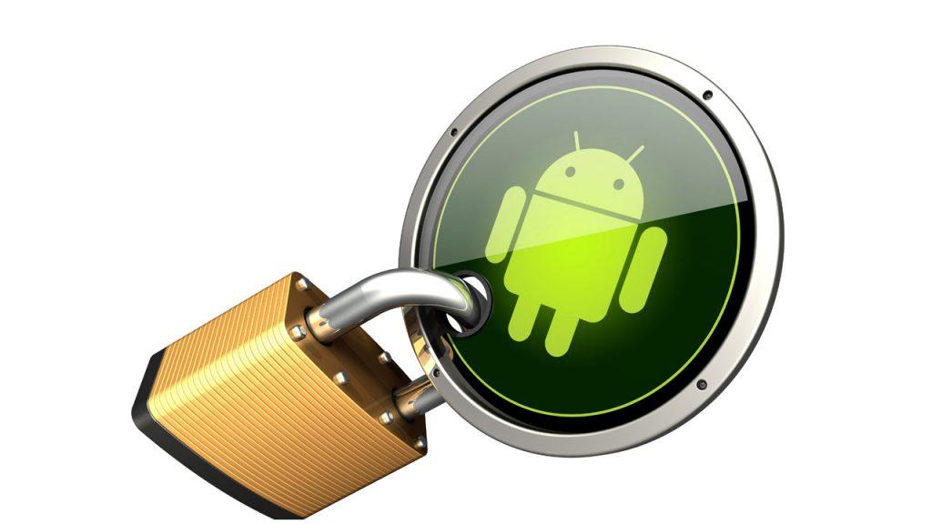 opciones seguridad android