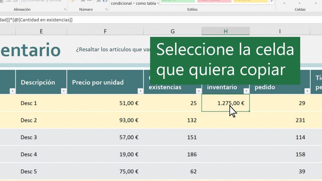 Opciones para volcar datos de un documento Excel a otro