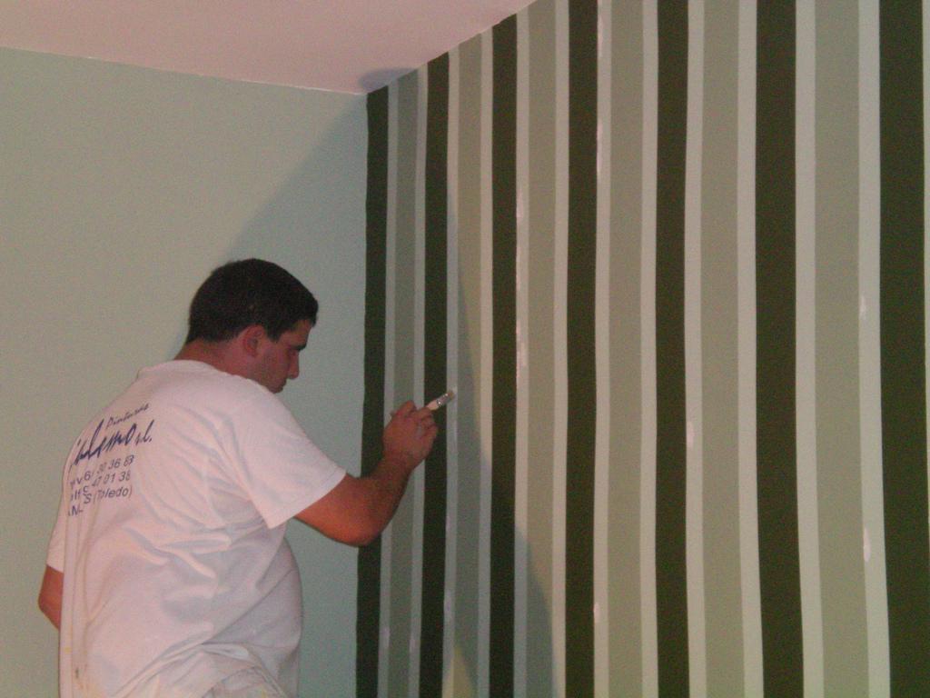 Preparación de la pared